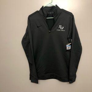 Nike Dri fit Stetson student athlete jacket NWT